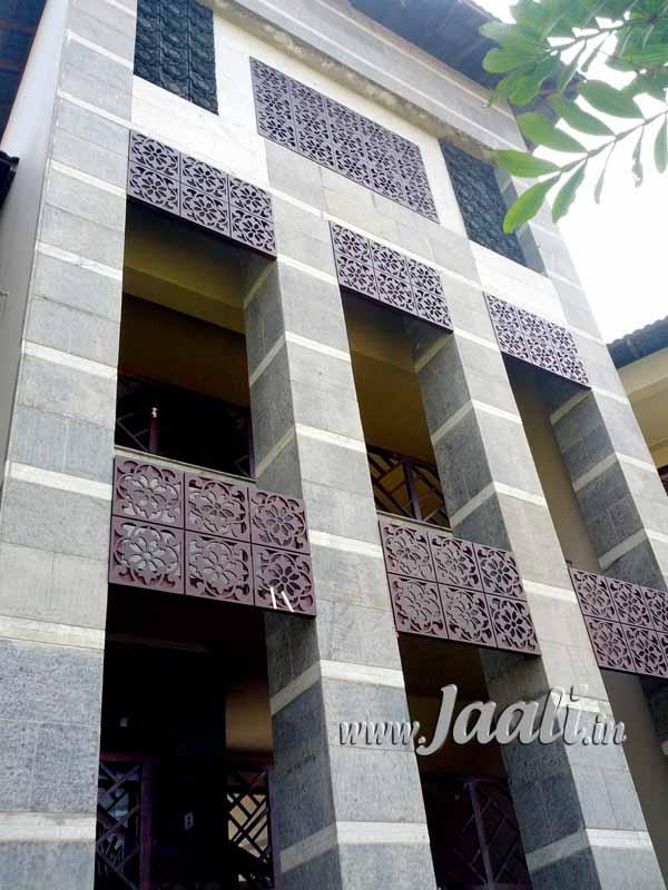 023 10mm Cement Sheet Jaalis On Exterior Facade