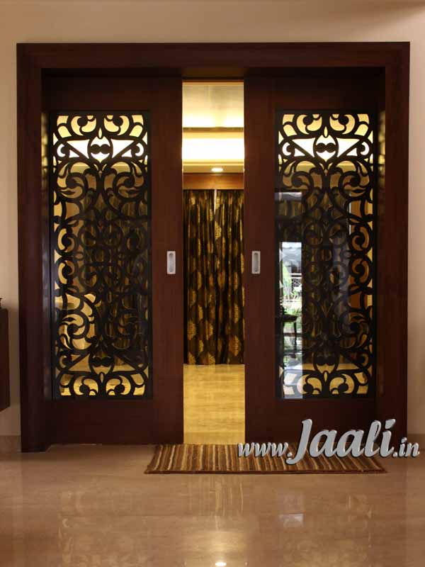 Jaali concepts for Door design cnc