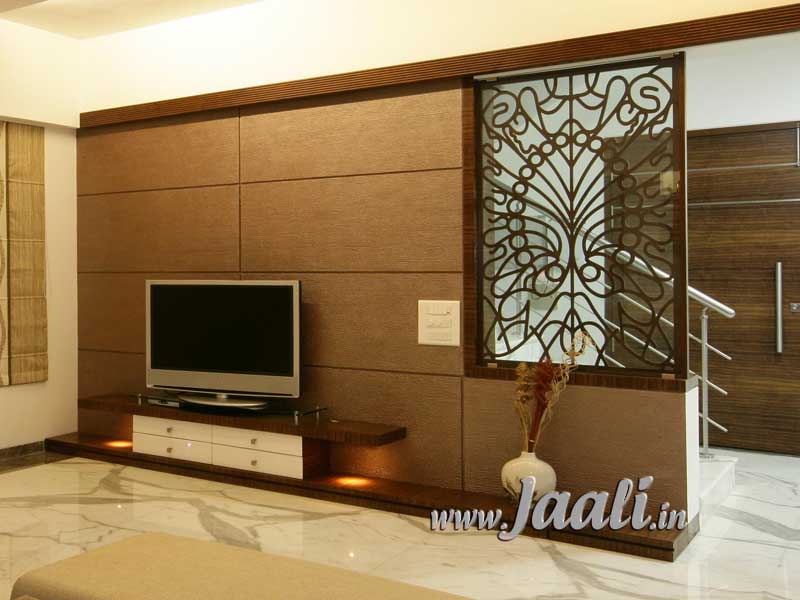 098 12mm Agro Wood Jaali As A Partition